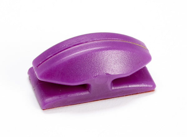 Thread Cutterz Purple Flat Mount Cutter - Mounts To Sewing Machines & Many Flat Surfaces