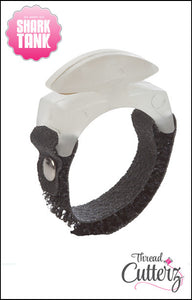 Glow-In-The-Dark Thread Cutterz Ring - The adjustable ring that cuts thread, yarn and embroidery floss