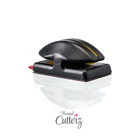 Thread Cutterz Black Flat Mount Cutter - Mounts To Sewing Machines & Many Flat Surfaces