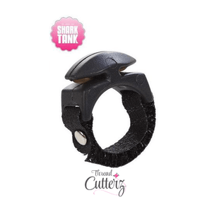 96b3b53d3 Black Thread Cutterz Ring - The adjustable ring that cuts thread, yarn and  embroidery floss