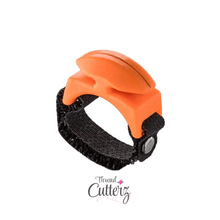 **NEW** Tangerine Thread Cutterz Ring - The adjustable ring that cuts thread, yarn and floss