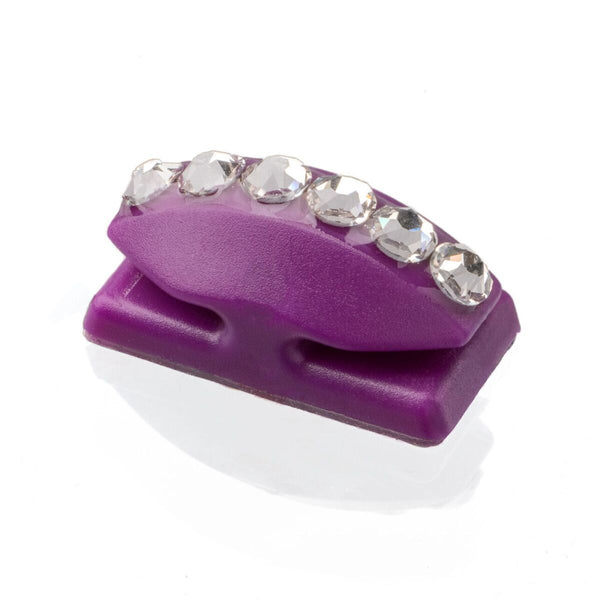 **NEW** Thread Cutterz Purple Flat Mount w/ Swarovski Crystals