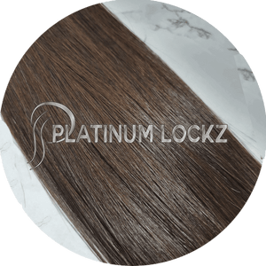 "Hair Extensions | Remy European 20"" Tape #2 Chocolate Brunette - Platinum Lockz 