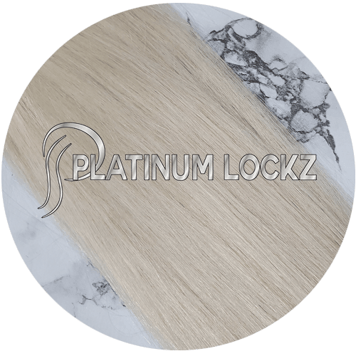 "Hair Extensions | Remy European 20"" Tape #60A Ash Platinum Blonde - Platinum Lockz 