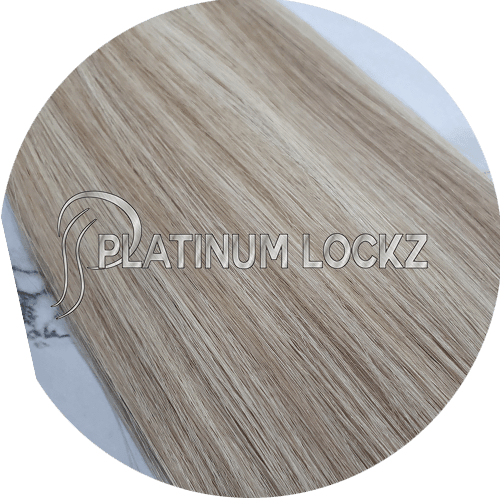 "Hair Extensions | Remy European 20"" Tape #P18/613 Sunkissed - Platinum Lockz 