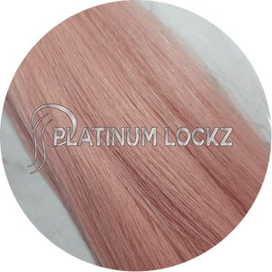 "Hair Extensions | Remy European 20"" Tape #Pretty Pink - Platinum Lockz 