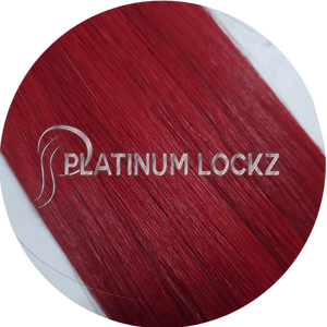 "Hair Extensions | Remy European 20"" Tape #Ravishing Red - Platinum Lockz 