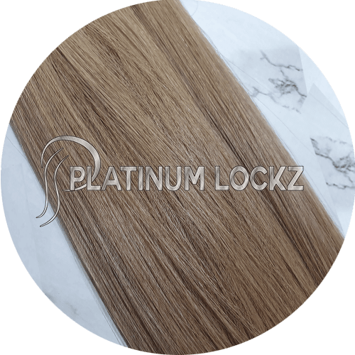 "Hair Extensions | Remy Russian 22"" Tape #12 Dirty Blonde - Platinum Lockz 