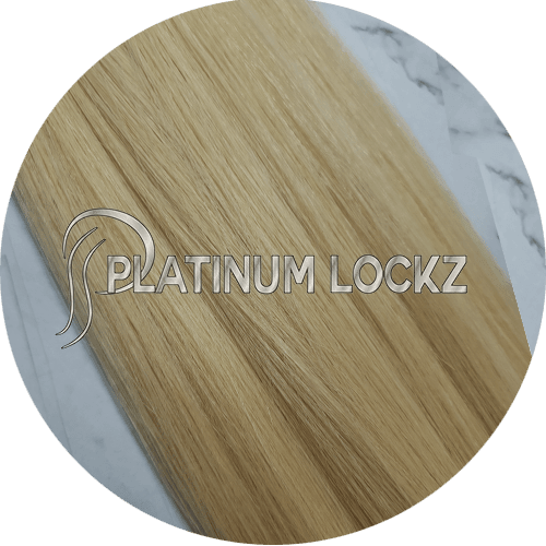"Hair Extensions | Remy Russian 22"" Tape #24 Beige Blonde - Platinum Lockz 