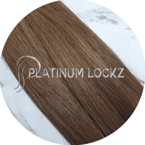 "Hair Extensions | Remy Russian 22"" Tape #4 Rich Brown - Platinum Lockz 