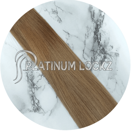 "Hair Extensions | Remy Russian 22"" Tape #6/18 - Platinum Lockz 