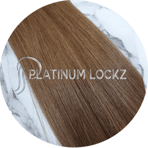 "Hair Extensions | Remy Russian 22"" Tape #6 Bella Brown - Platinum Lockz 