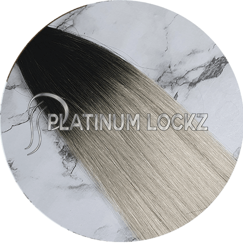 "Hair Extensions | Remy Russian 22"" Tape #T1/60A - Platinum Lockz 