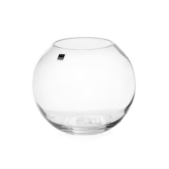 Glass Fish Bowl Vase - Assorted Sizes (Glass)