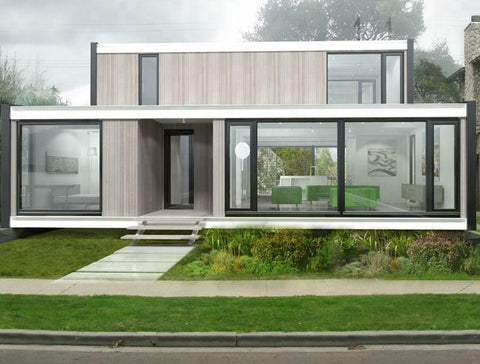 2 Story Shipping Container House