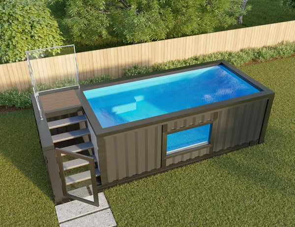 Tiny pool tiny in a box - Swimming pool electrical deck box ...