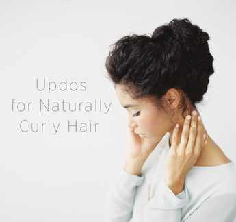 A Chic Hairstyle for Naturally Curly Hair