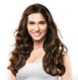 DARK BROWN (#2) CLIP IN HAIR EXTENSIONS-Clip-In Hair Extensions-Instalength