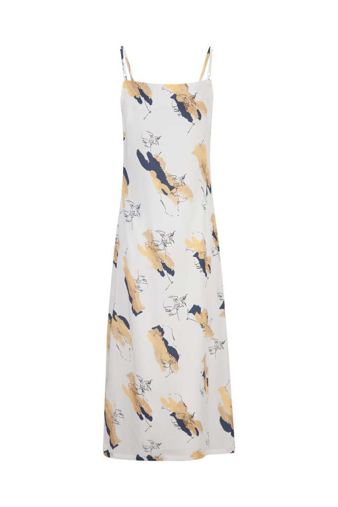 BALANCE PRINTED DRESS - rhumaa