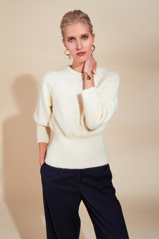 FAIR CREAM JUMPER - rhumaa