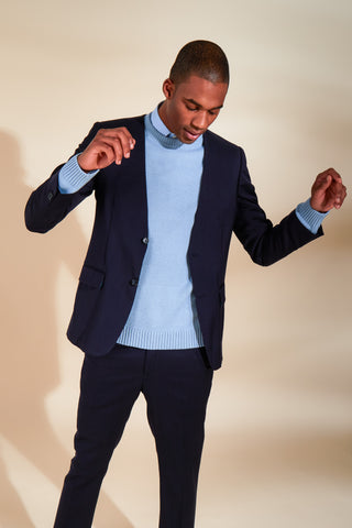PHOTO NAVY BLAZER - rhumaa