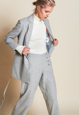 STILL GREY TROUSER - rhumaa