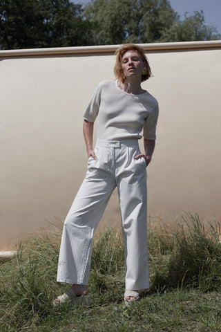 SEARCH STRIPE TROUSER - rhumaa