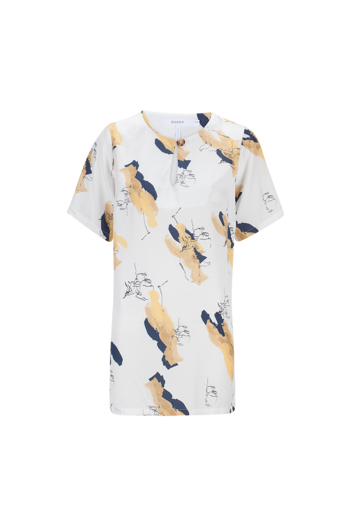 TRUE PRINTED TOP - rhumaa