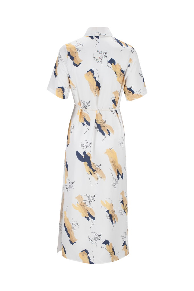 CONFIDENCE PRINTED LYOCELL DRESS