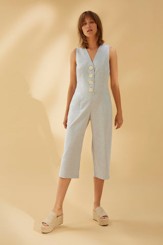WONDER COTTON JUMPSUIT - rhumaa