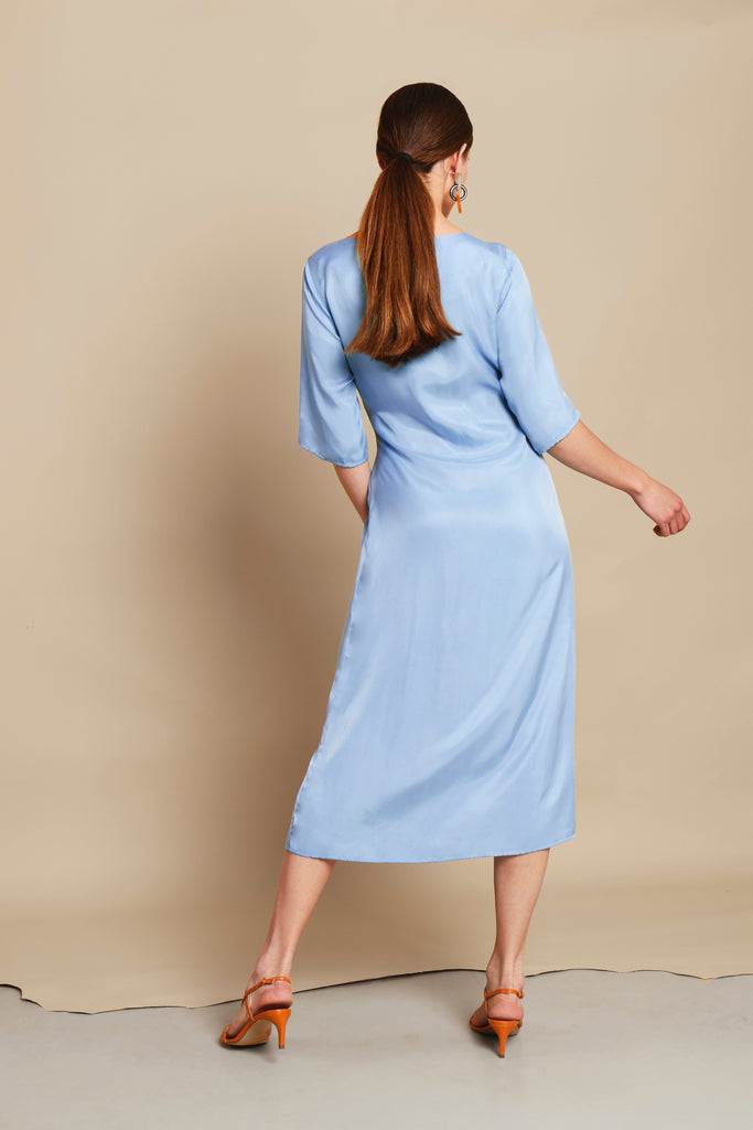 RELATE BLUE DRESS