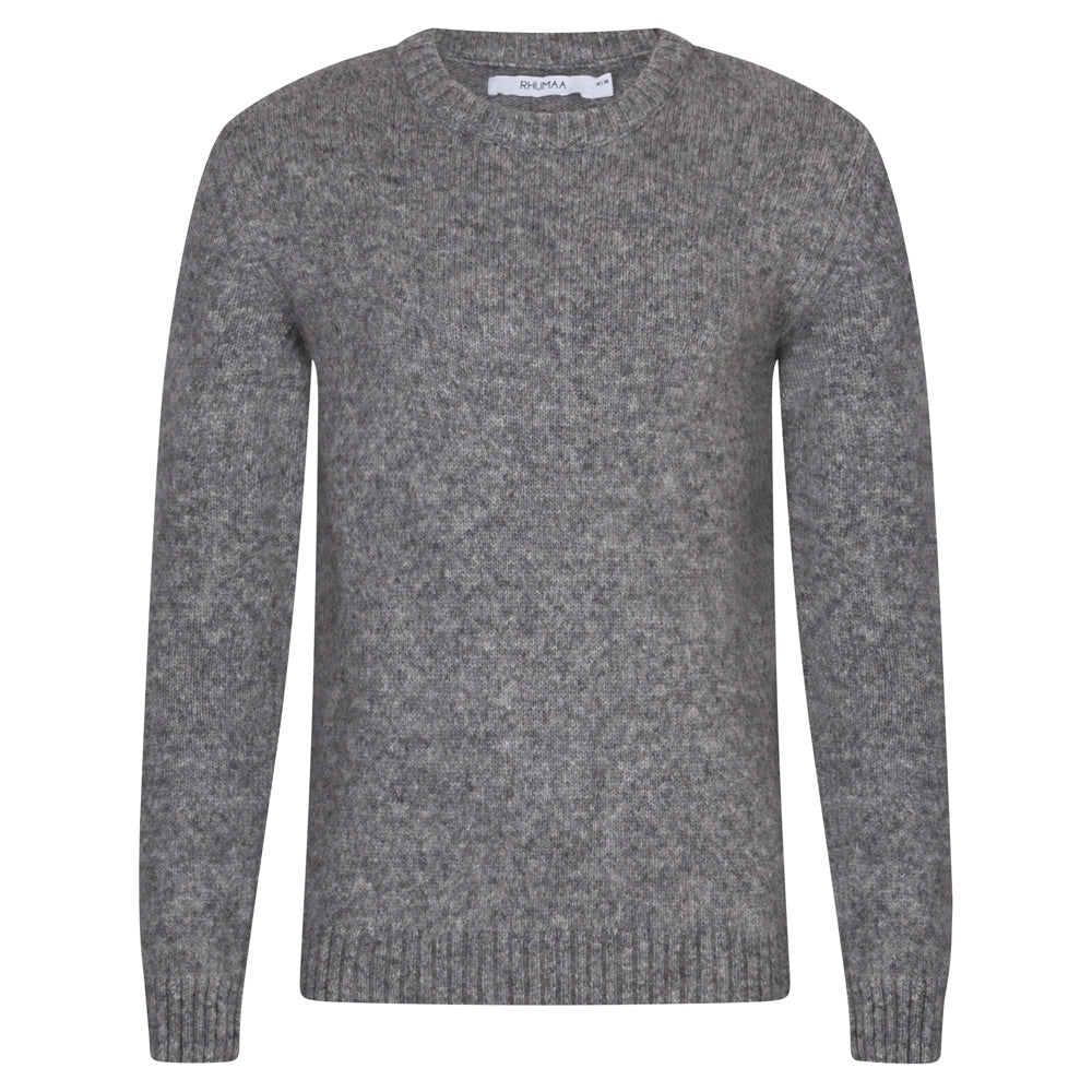 THINK GREY JUMPER - rhumaa