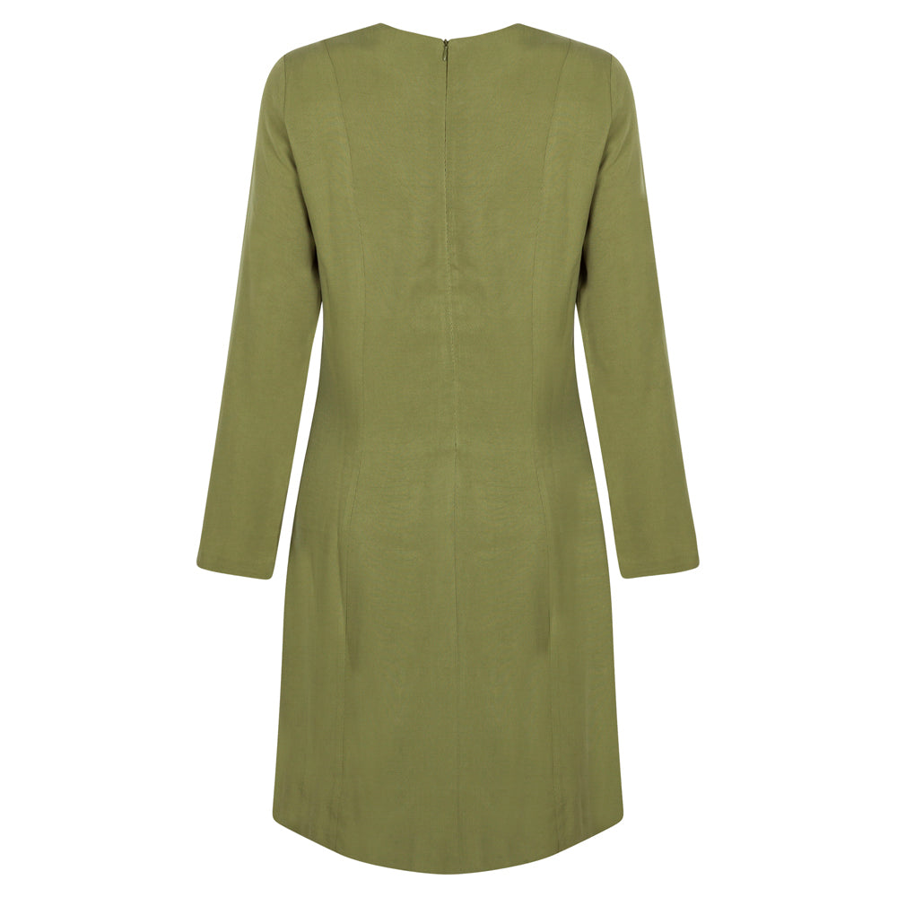 FLOW GREEN DRESS - rhumaa