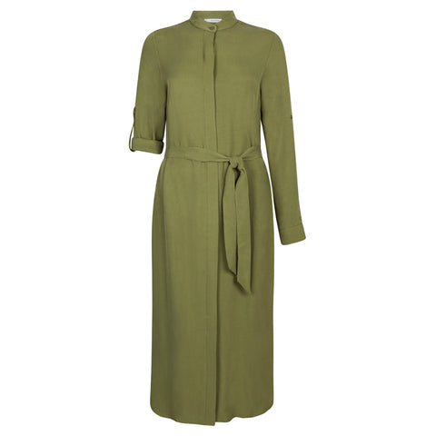 CONSCIOUS GREEN DRESS - rhumaa