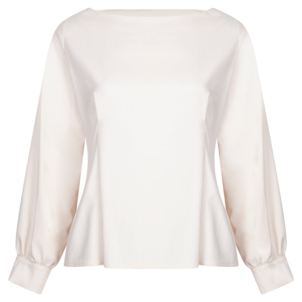 HARBOUR CREAM TOP - rhumaa