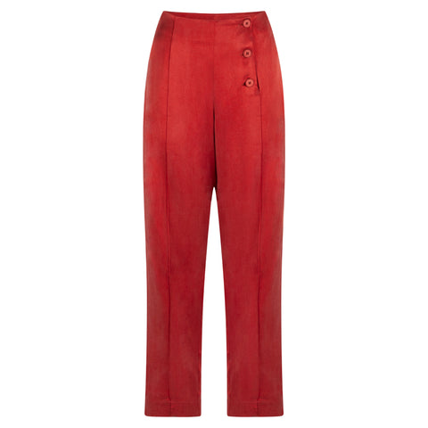 STILL RUST TROUSER - rhumaa