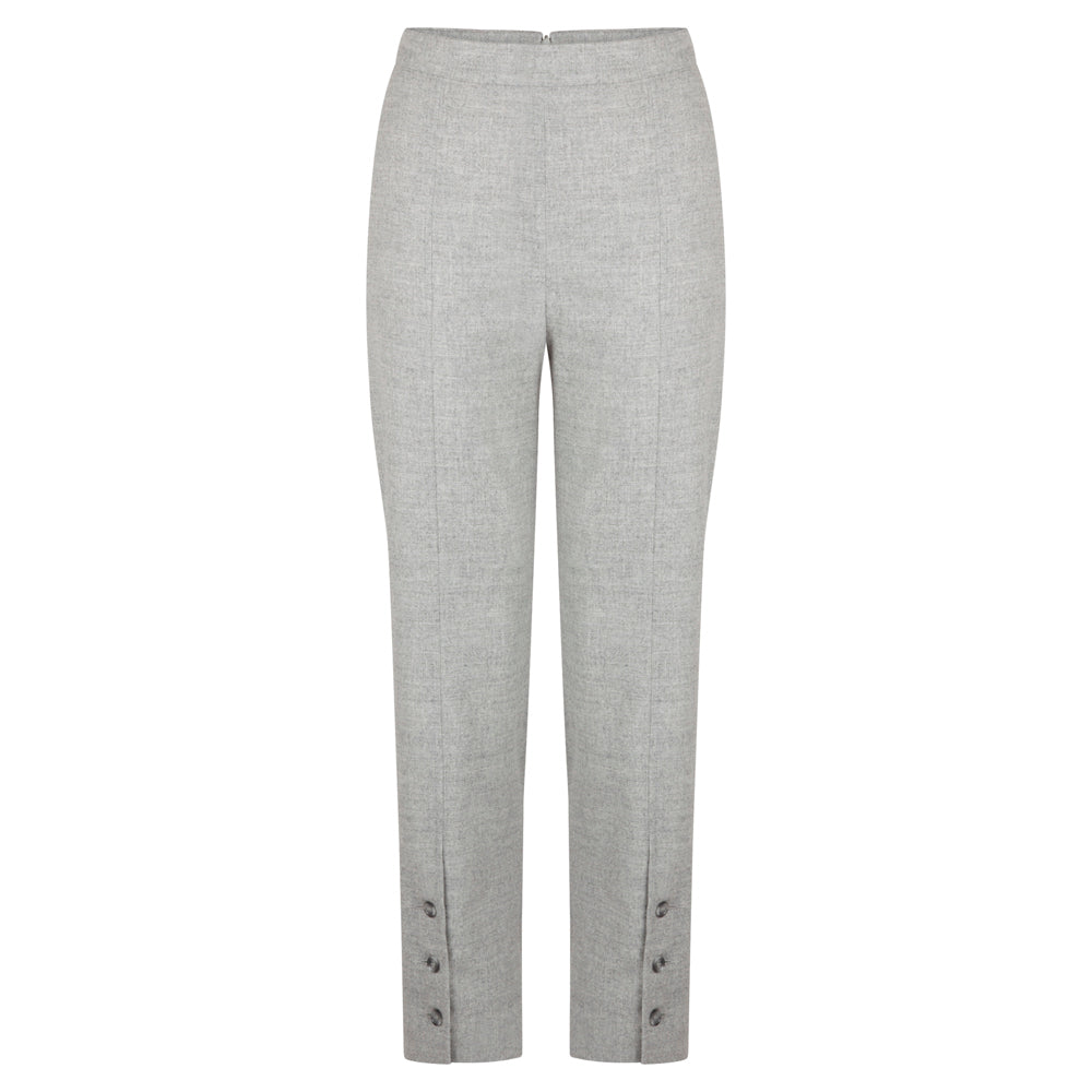 WORTHY GREY TROUSER - rhumaa
