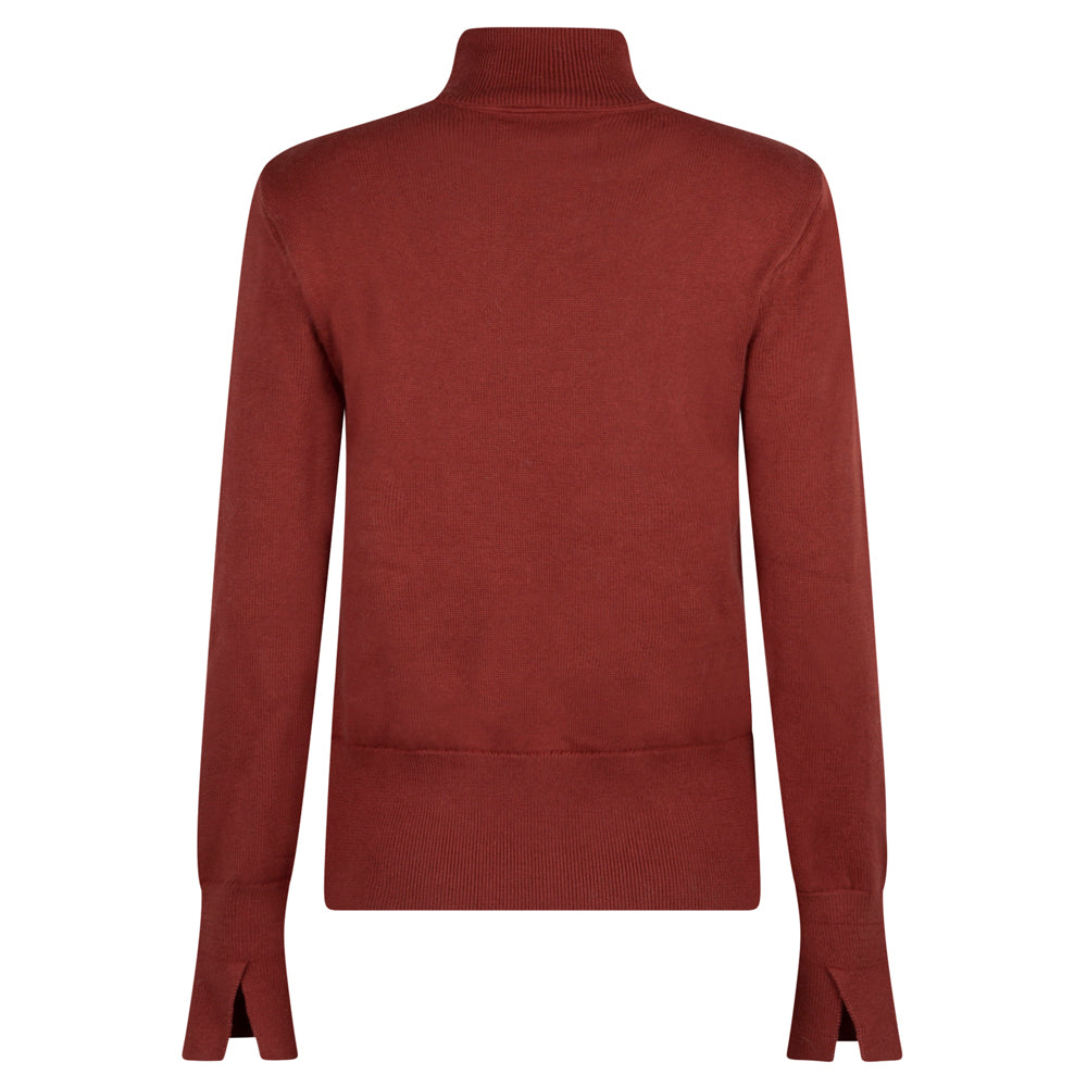 RIGHTFUL RUST PULLOVER - rhumaa