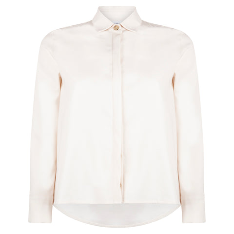HONEST CREAM SHIRT - rhumaa