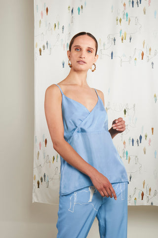SENSATION BLUE CAMISOLE
