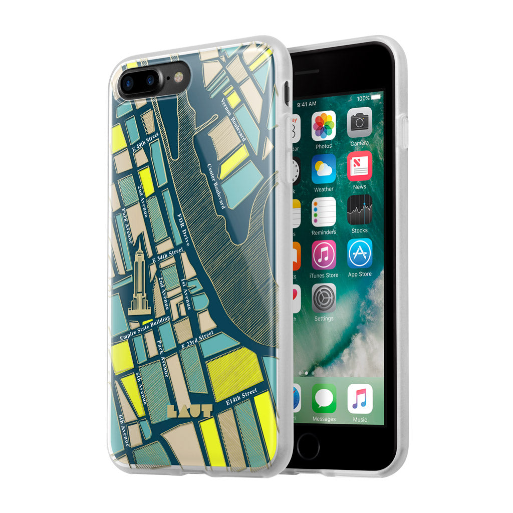 LAUT-NOMAD New York-Case-For iPhone 8 Plus