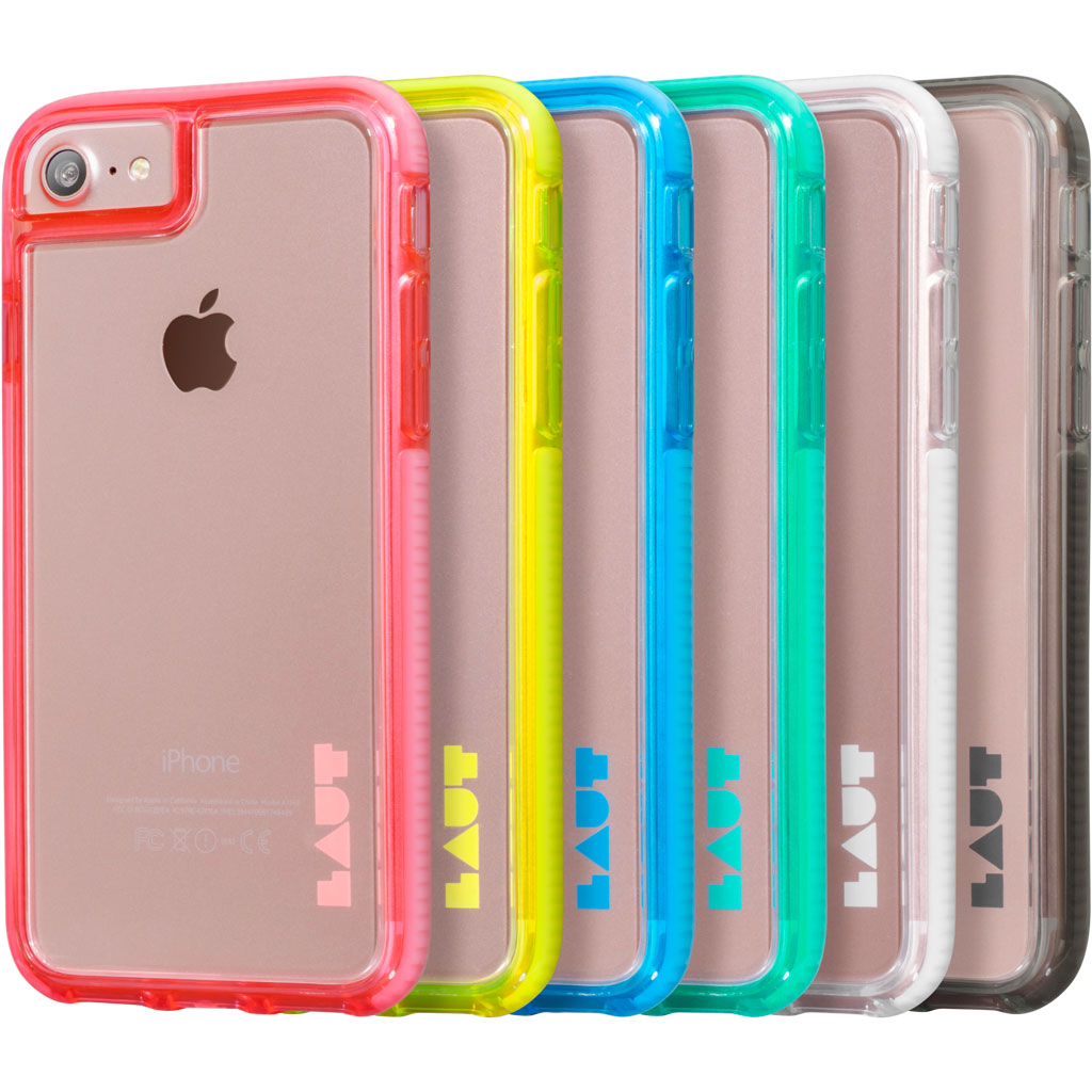 LAUT-FLURO [IMPKT]-Case-For iPhone 8