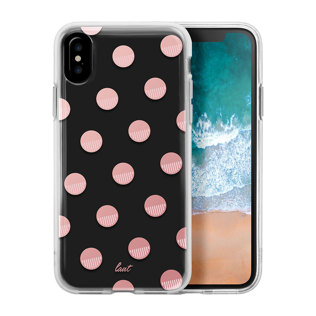 LAUT-POP POLKA PINK-Case-For iPhone X