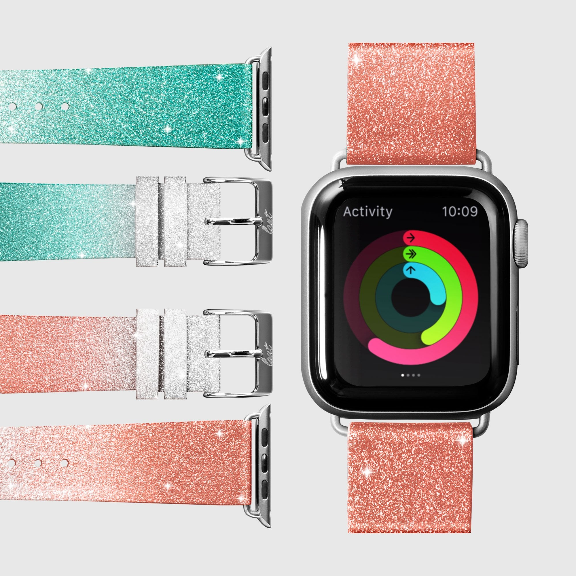 OMBRE SPARKLE Watch Strap for Apple Watch Series 1-6 & SE
