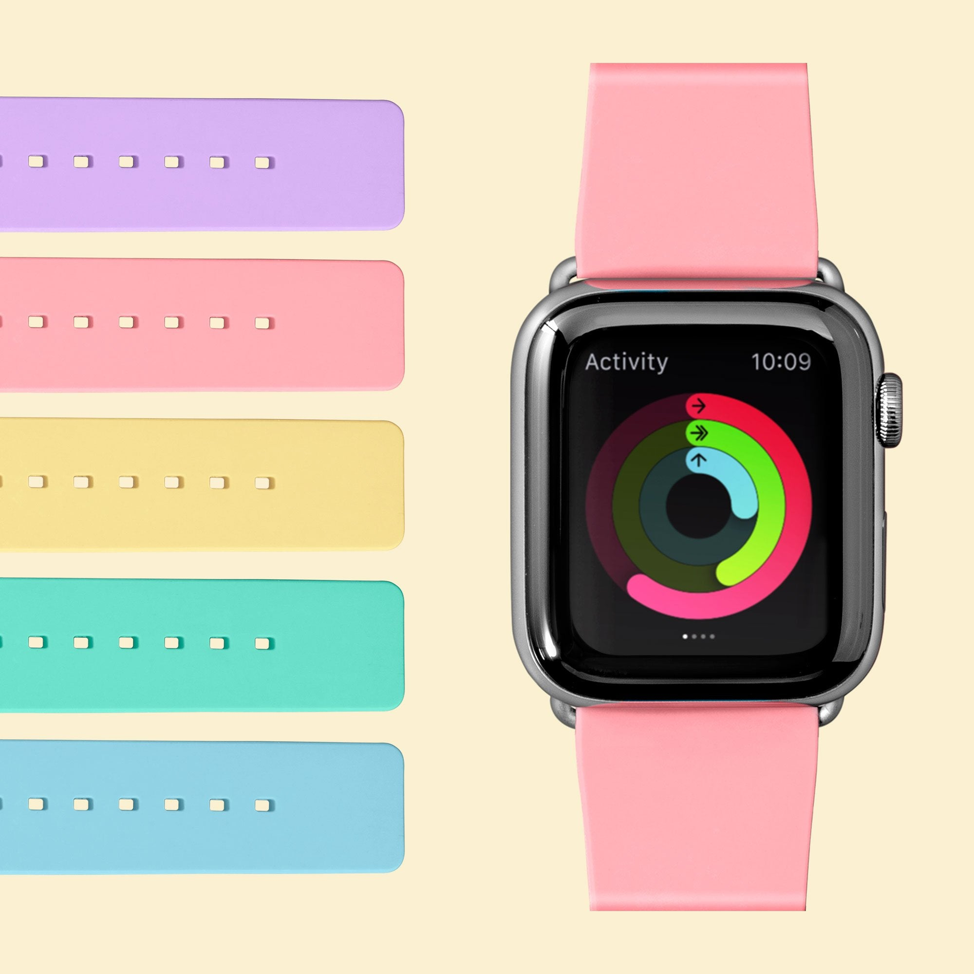 HUEX PASTELS Watch Strap for Apple Watch Series 1-6 & SE