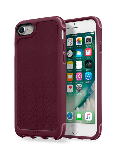 LAUT-R1 [IMPKT] Leather-Case-For iPhone 8