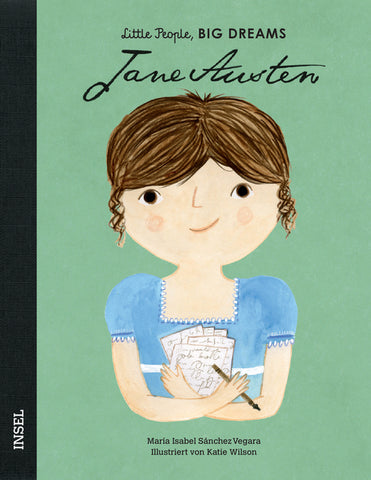 Jane Austen - Little People, Big Dreams. | María Isabel Sánchez Vegara