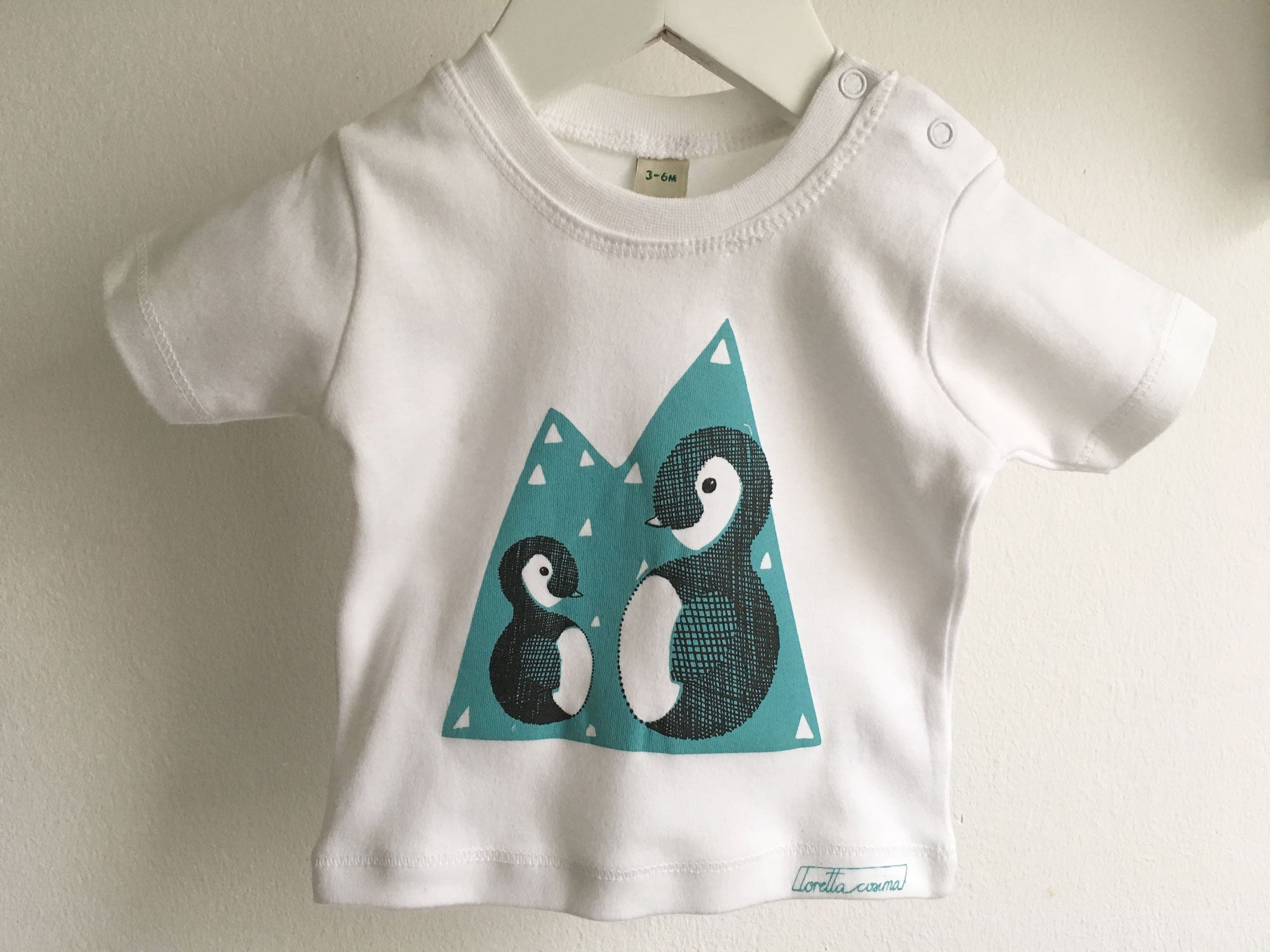 Baby T-Shirt *Pinguin*
