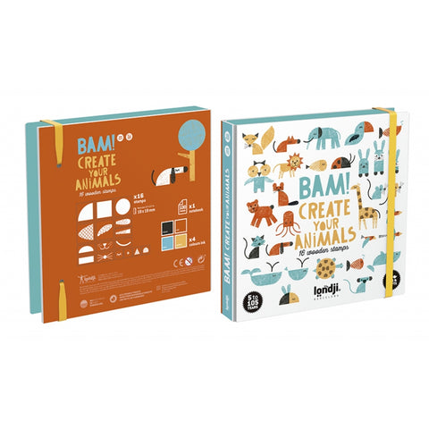 BAM! ANIMALS Tier Stempel Set