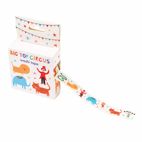 Washi Tape Big Top Circus
